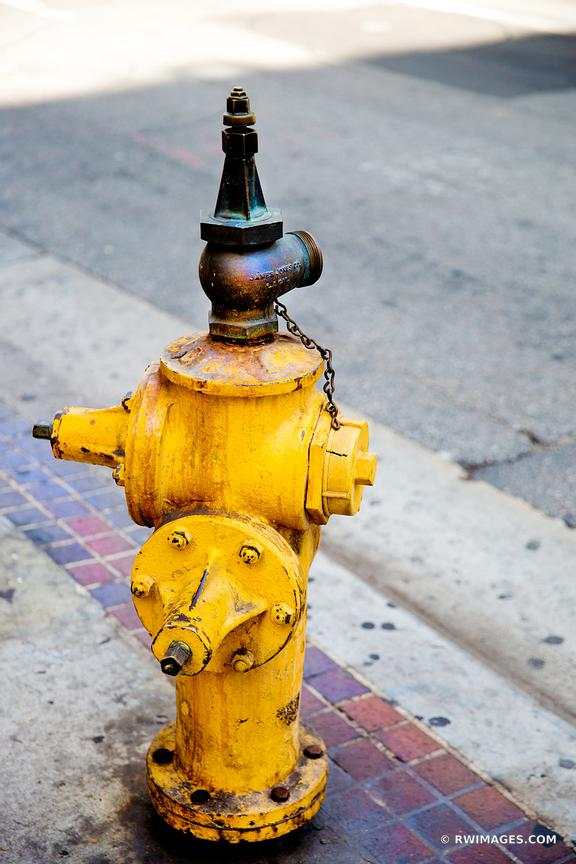 FIRE HYDRANT LOS ANGELES CALIFORNIA COLOR