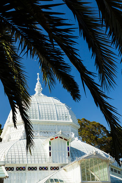 Golden Gate Park conservatory in San Francisco, California, USA