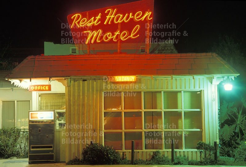 Rest Haven Motel, Los Angeles, Kalifornien