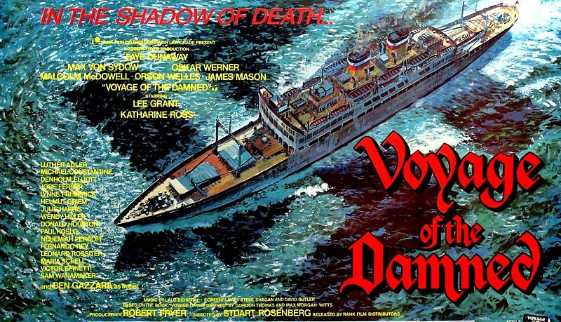 Voyage of the Damned film post - 1977e