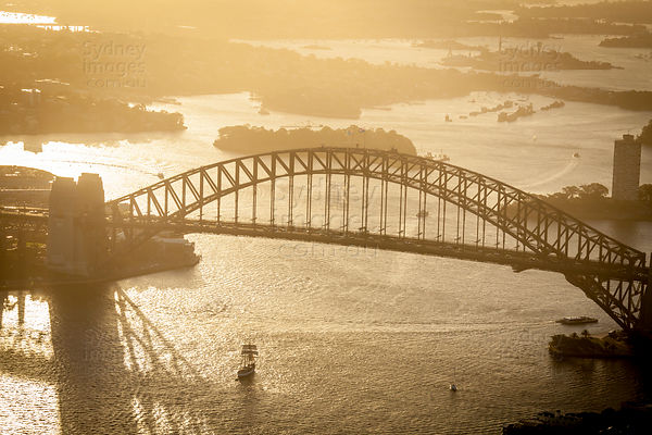 Harbour Bridge Sunset