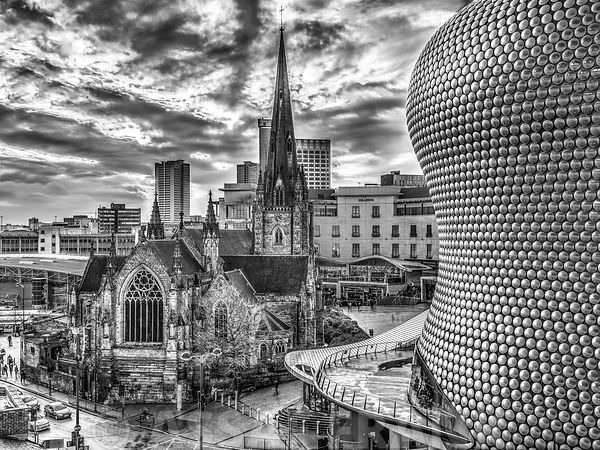 Bullring and St Martins Church