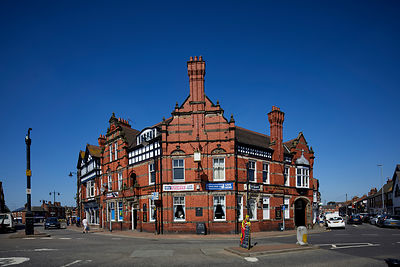 The Swan & Chequers Robinson Brewery pub