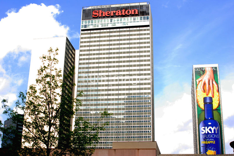 Downtown Dallas Sheraton Hotel