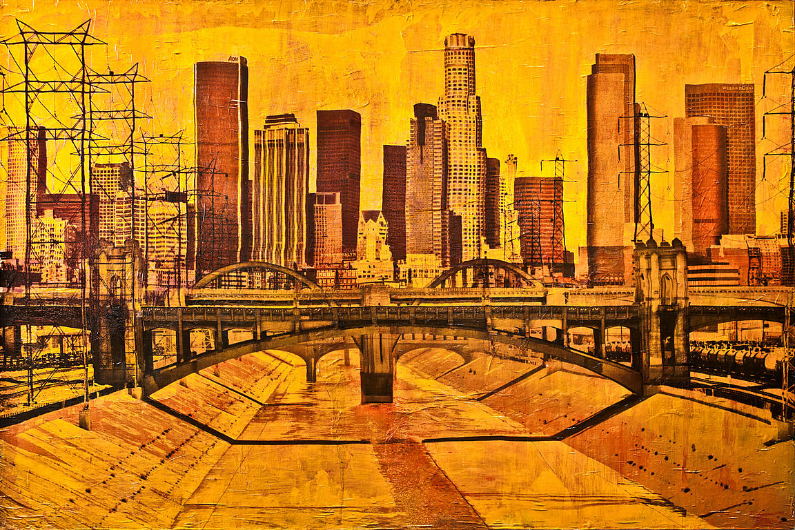 LA River-Yellow