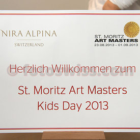 SAM St.Moritz Art Masters 2013 Kids Day Nira Alpina