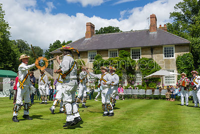 Rutland Morris Dancers. The Ashwell Village Fete, 21 June 2015