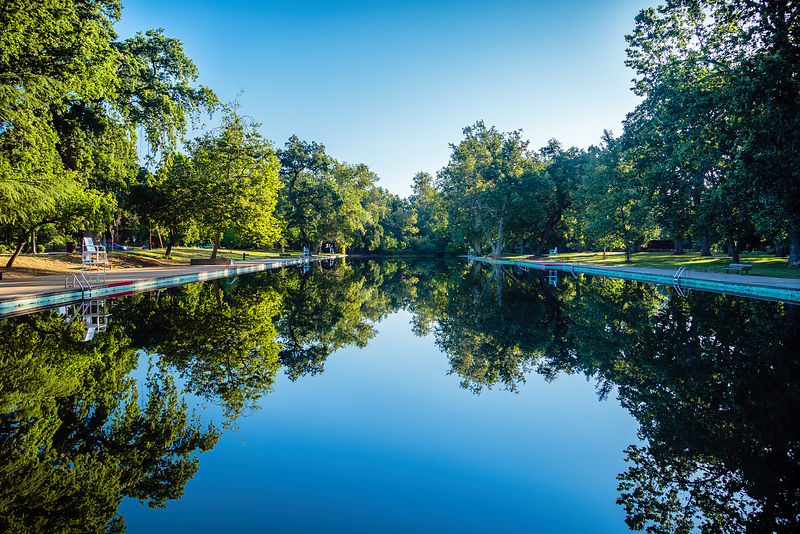 One Mile Pool - Bidwell Park - Chico, California