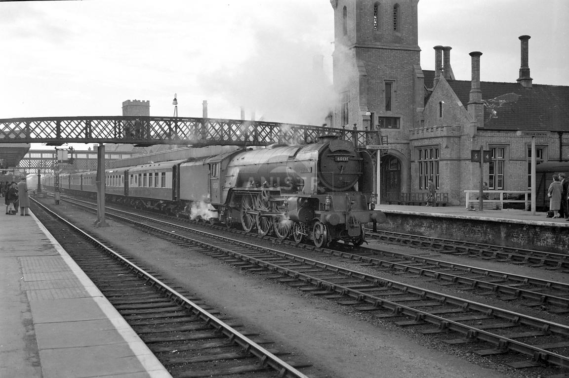 Steam loco A1 60131 Lincoln Central