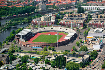 Iconic 1928 Olympic Stadium Amsterdam Netherlands