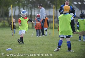 21st April, 2012. Castleknock GFC football nursery, Carpenterstown, Dublin. Pictured is one of the young members of the club....
