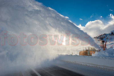 Bernina Pass Winter