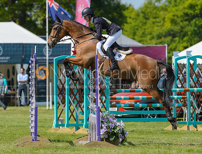 Willa Newton and CHANCE REMARK, Fairfax & Favor Rockingham Horse Trials 2018