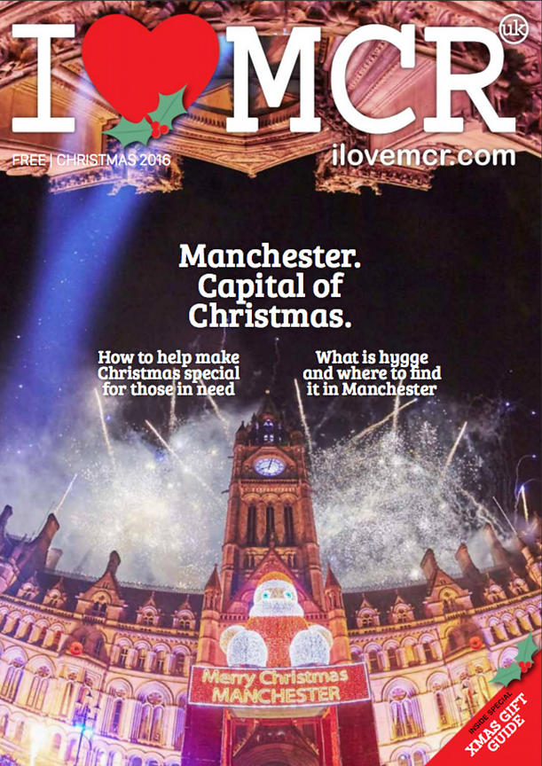 Manchester's Albert Hall Christmas light switch on