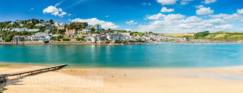 BP6515- Panoramic view of Salcombe from East Portlemouth