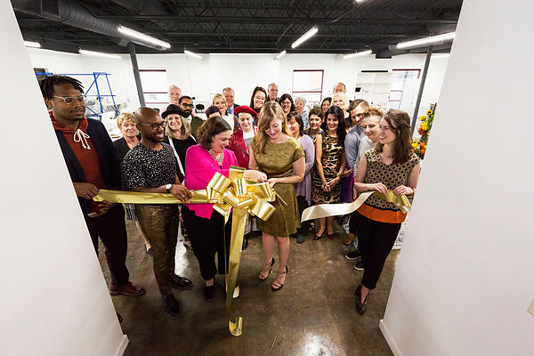 ATELIER RIBBON CUTTING