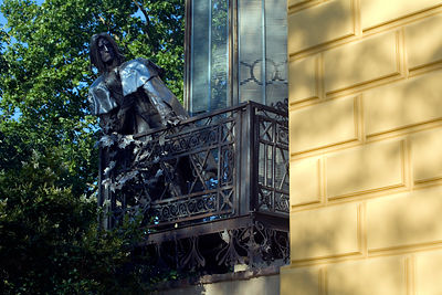 Hungary - Pecs - A statue of the composer Franz Liszt