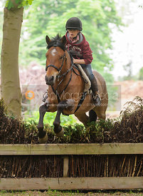 Ned Forryan and B-Bow at Ketton