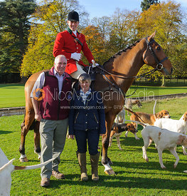 The Hunter family at the meet - Fitzwilliam Hunt Opening Meet 2016