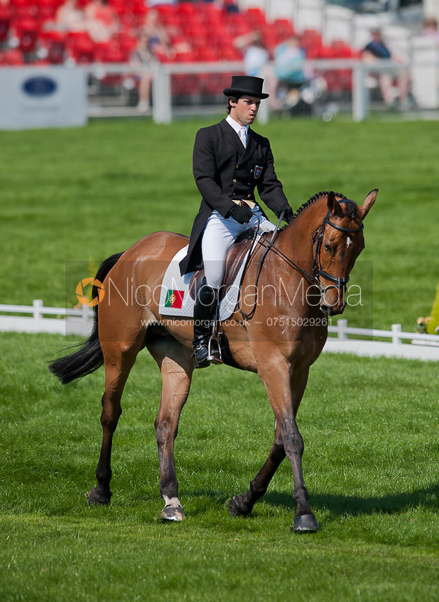 Duarte Seabra and Fernhill Gloster Rebel - Dressage.