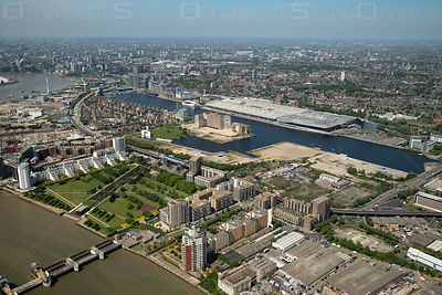 Pontoon Dock and ExCel London England