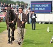 Dan Jocelyn and Special Advocate - 2nd Inspection - Burghley 2010