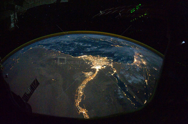 EARTH North Africa / Middle East -- 28 Oct 2010 -- One of the fascinating aspects of viewing Earth at night is how well the l...