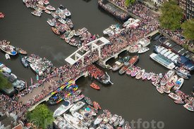 Amsterdam - Luchtfoto Canal Parade 19