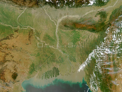 EARTH India -- 05 Mar 2003 -- The Moderate Resolution Imaging Spectroradiometer (MODIS) on the Aqua satellite detected fires ...