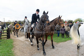 Ollie Finnegan at the meet. Quorn Hunt Opening Meet 2018