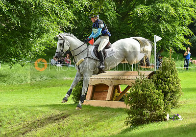 Jodie Amos and SOLTAIR JUSTICE, Equitrek Bramham Horse Trials 2018
