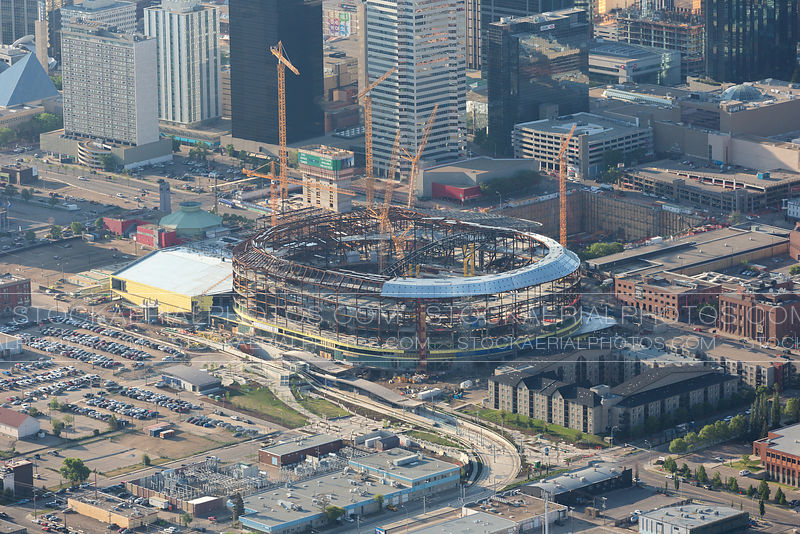 Rogers Place Construction