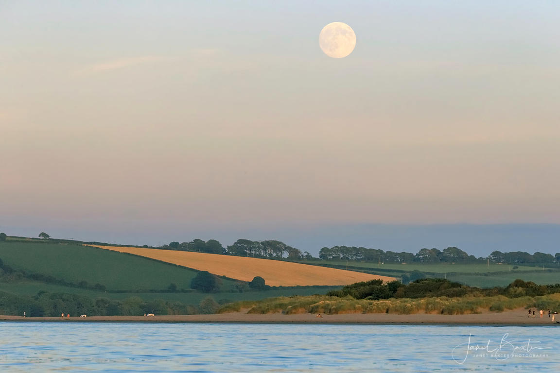 Supermoon, Teifi estuary