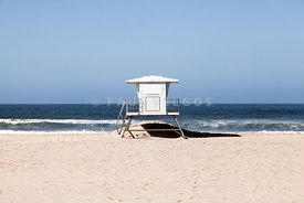 California Lifeguard Tower Photo