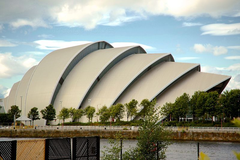 Clyde Auditorium in Glasgow