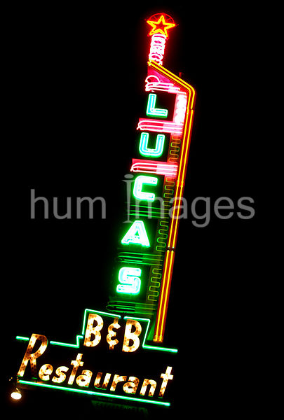 Dallas Stock Photos: Lucas B& B Restaurant