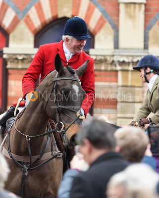 Andrew Osborne At the meet. The Cottesmore Hunt Boxing Day Meet in Oakham 26/12