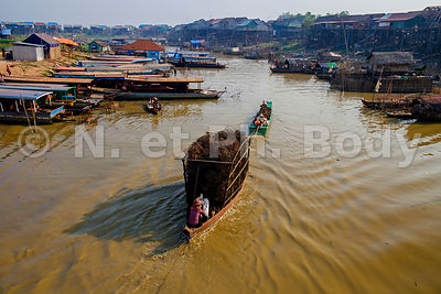 Tonle Sap - Villages flottants