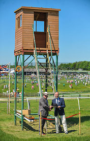 Opening of new Judges' hut at Garthorpe