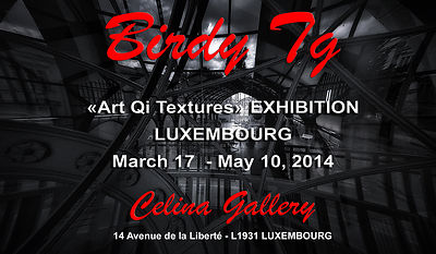 Birdy Tg on Exhibition at LUXEMBOURG