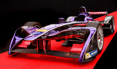 Julius Bar F1 Race car