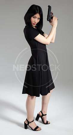 Yuu Valley Girl Stock Photography