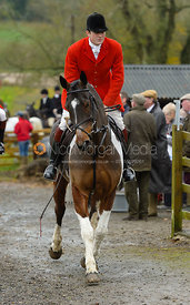 William Bell at the meet at Oak House