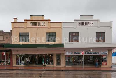 Shops in Lithgow, Australia