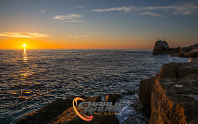 Sunset at Portland Bill