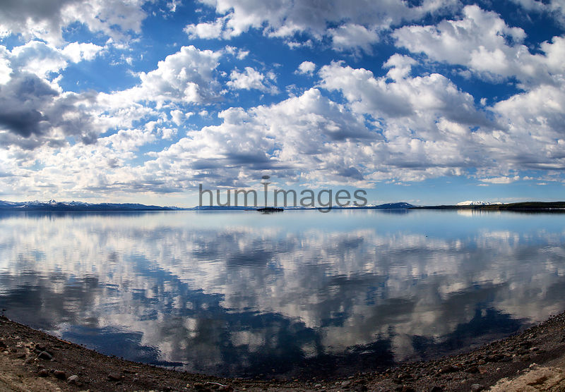 Clouds over Yellowstone Lake