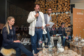 SAM St.Moritz Art Masters 2013 Press Conference at the Mercedes Art Lounge