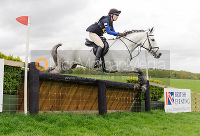 Annie Frankham and BALLYROSS HERO - Brigstock International Horse Trials, Rockingham Castle 2014