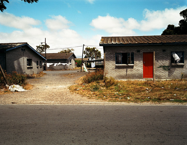 Red door, Gugulethu, Cape Town, South Africa
