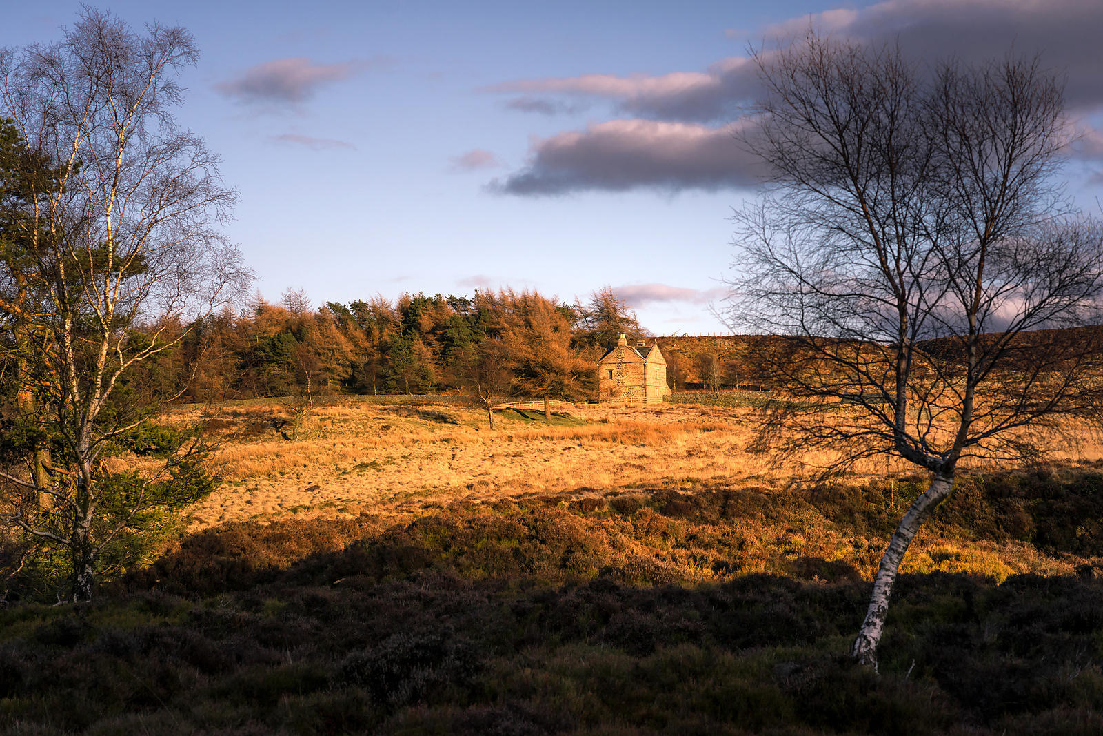 White Edge Lodge on the Longshaw Estate